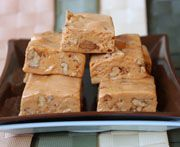 Chewy Caramel Fudge