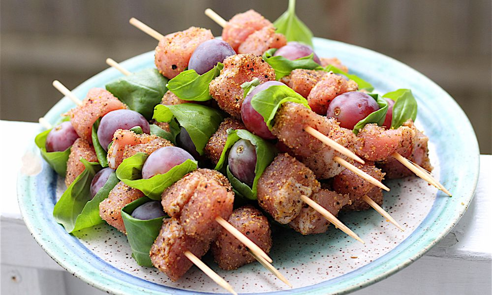 Sweet Spiced Pork Kabobs