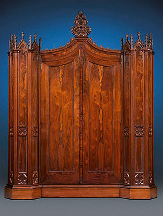 Henry Clay Rosedown Plantation Armoire donated to the Louisiana State Museum by M.S. Rau Antiques.
