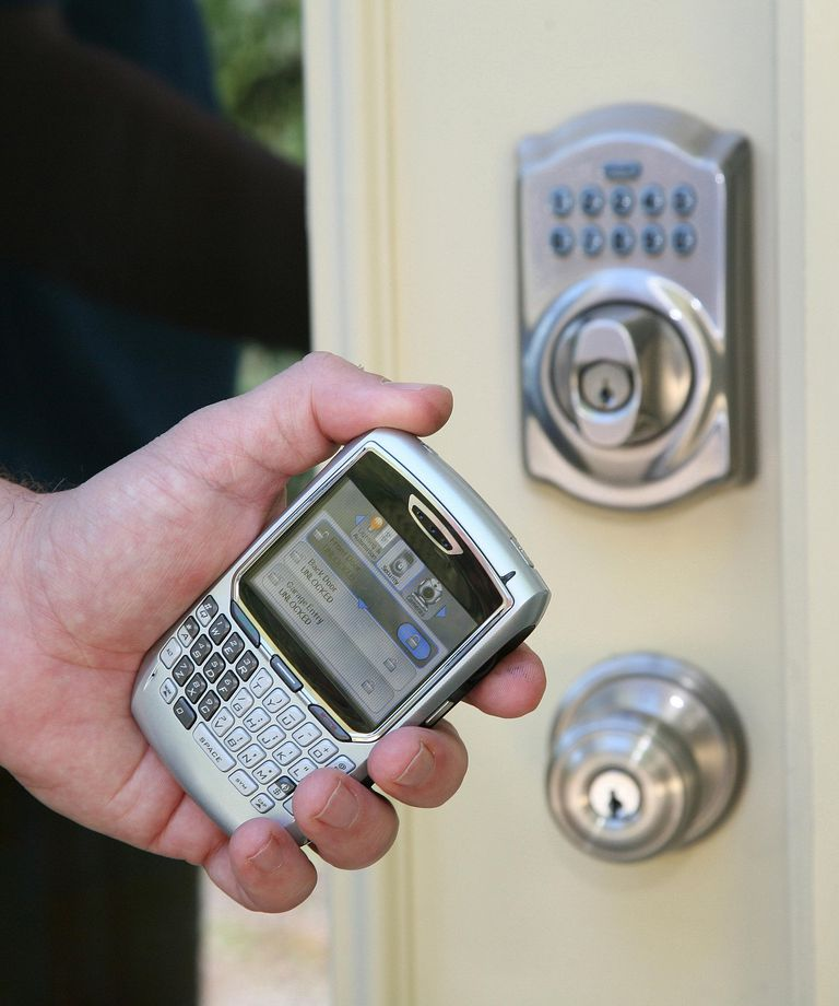 schlage link wireless home security