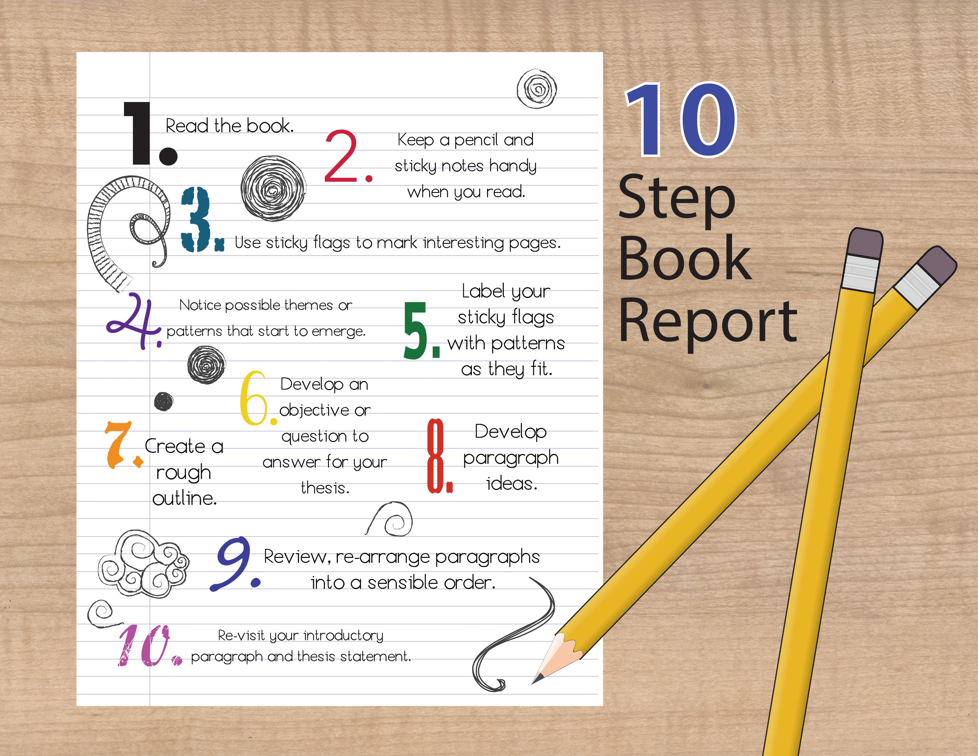 How To Write A Response Paper Book Report Steps