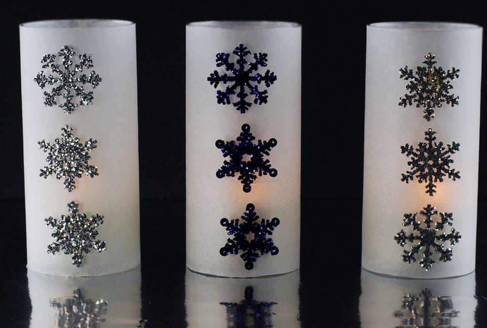 snowflake luminary
