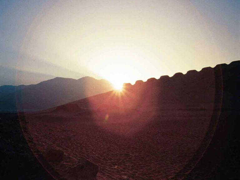 Chankillo at the June Solstice Sunrise, 2003