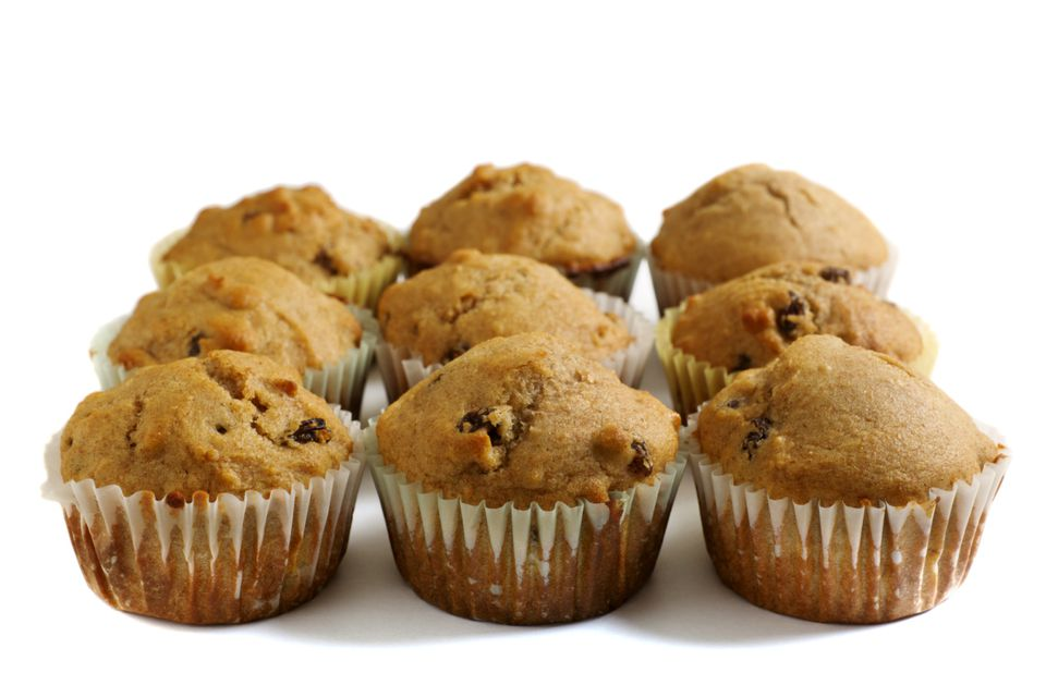 Raisin spice muffins