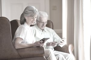 Seniors looking into reverse mortgage insurance