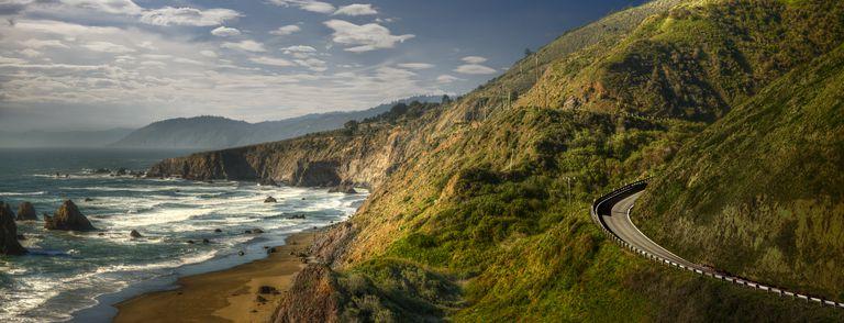Dramatic Northern California Coastline