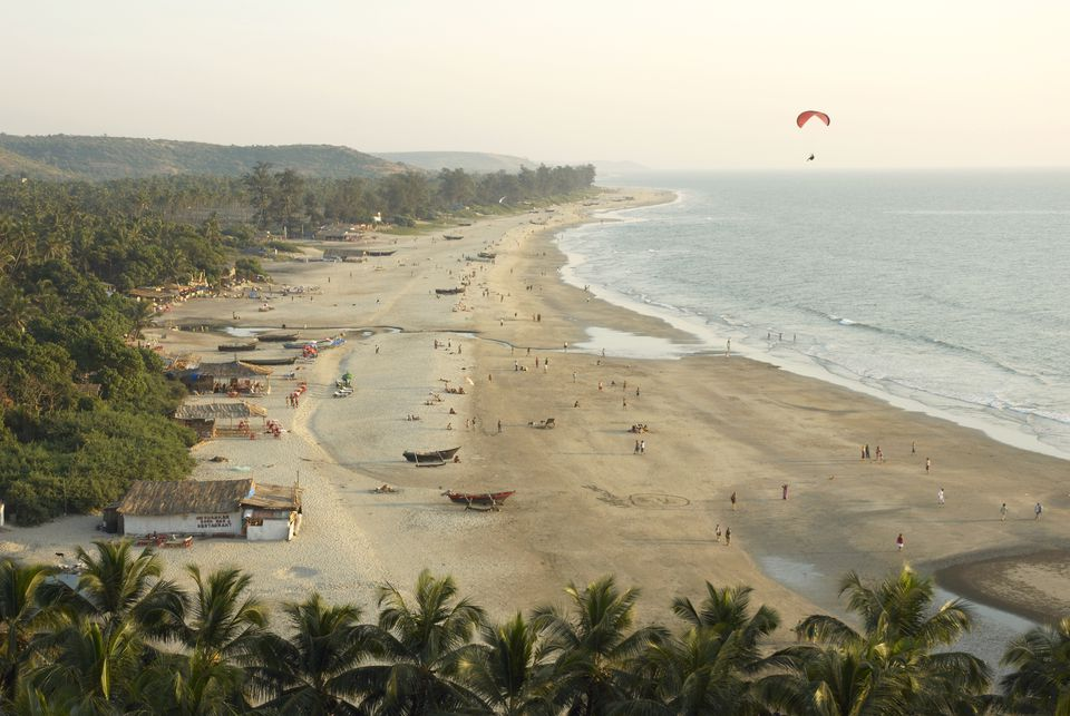 Arambol beach, Goa.