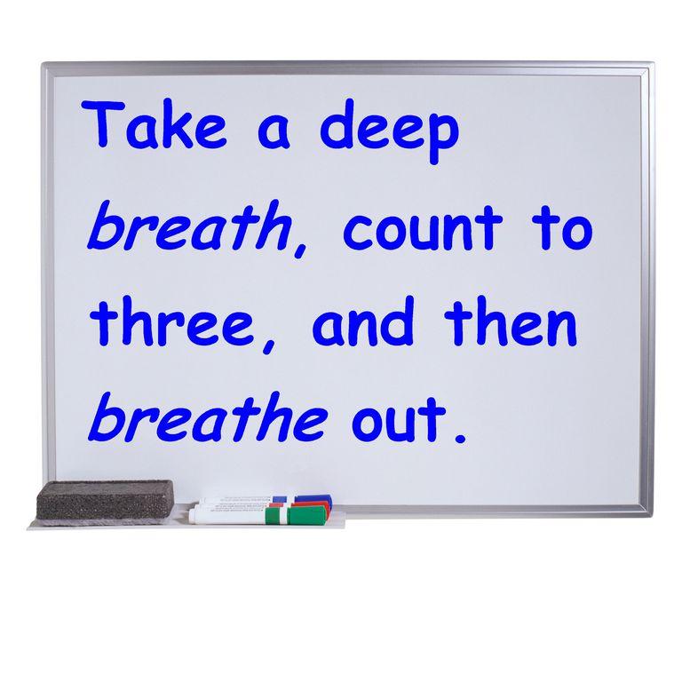breath and breathe