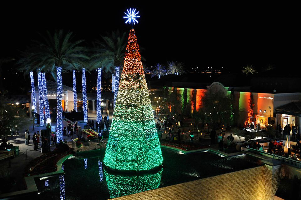 Fairmont Scottsdale Princess Christmas Tree