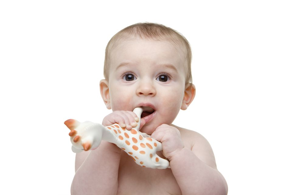 Baby Mouthing Toy Giraffe