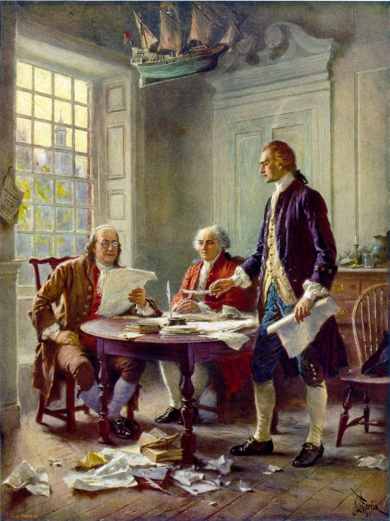 Revisando la Declaración de Independencia