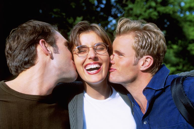 Woman With Two Men