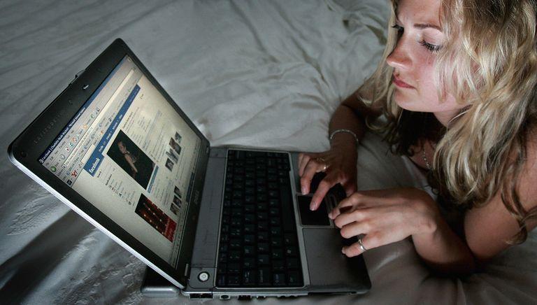 Creeping or stalking on Facebook