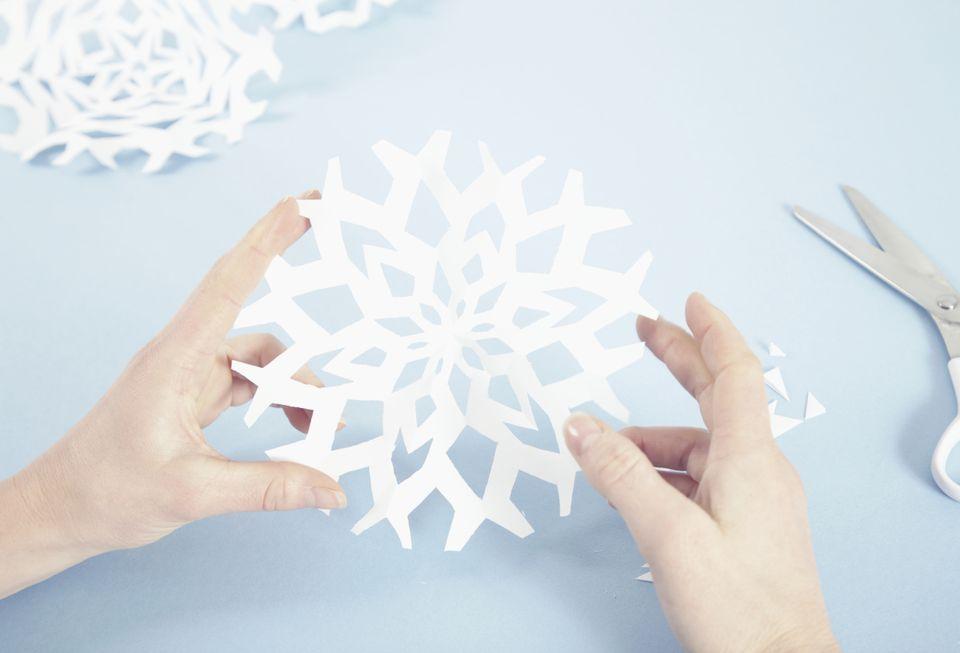 kirigami snowflake
