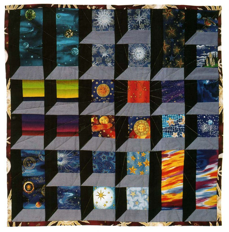 Pictures Of Attic Windows Quilts