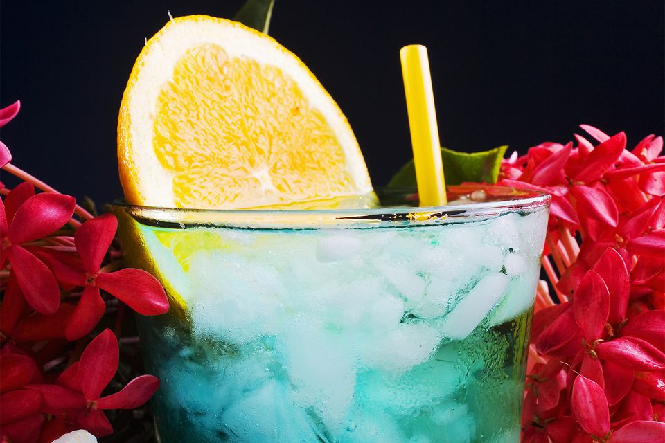 SOHO Lagoon Punch - Beautiful Blue Party Punch
