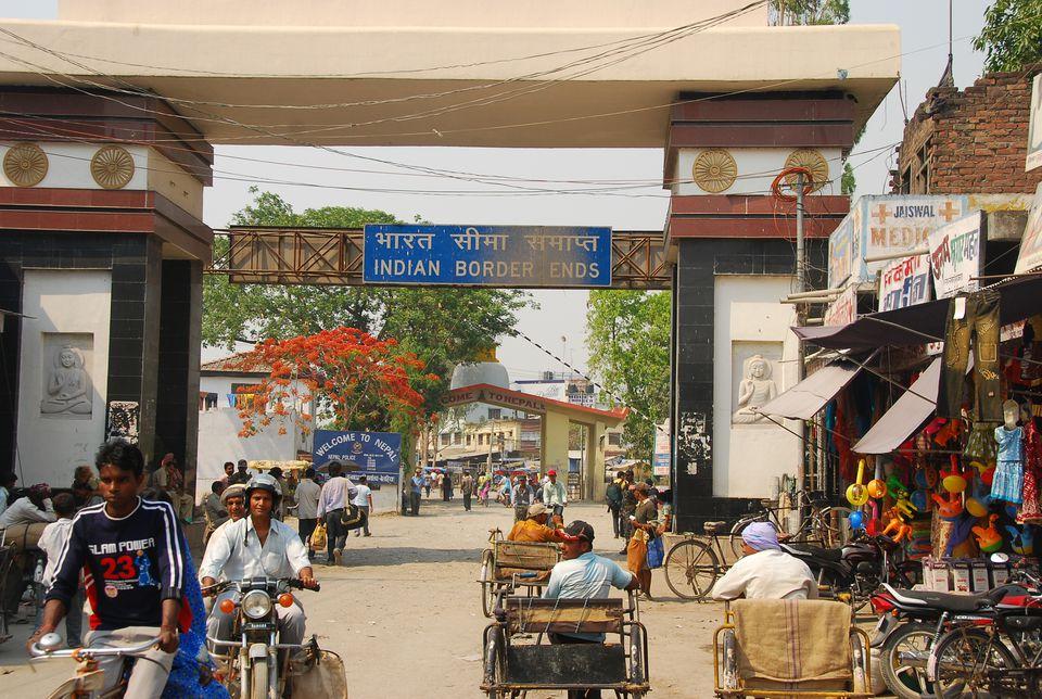 India Nepal Sunauli Border Crossing