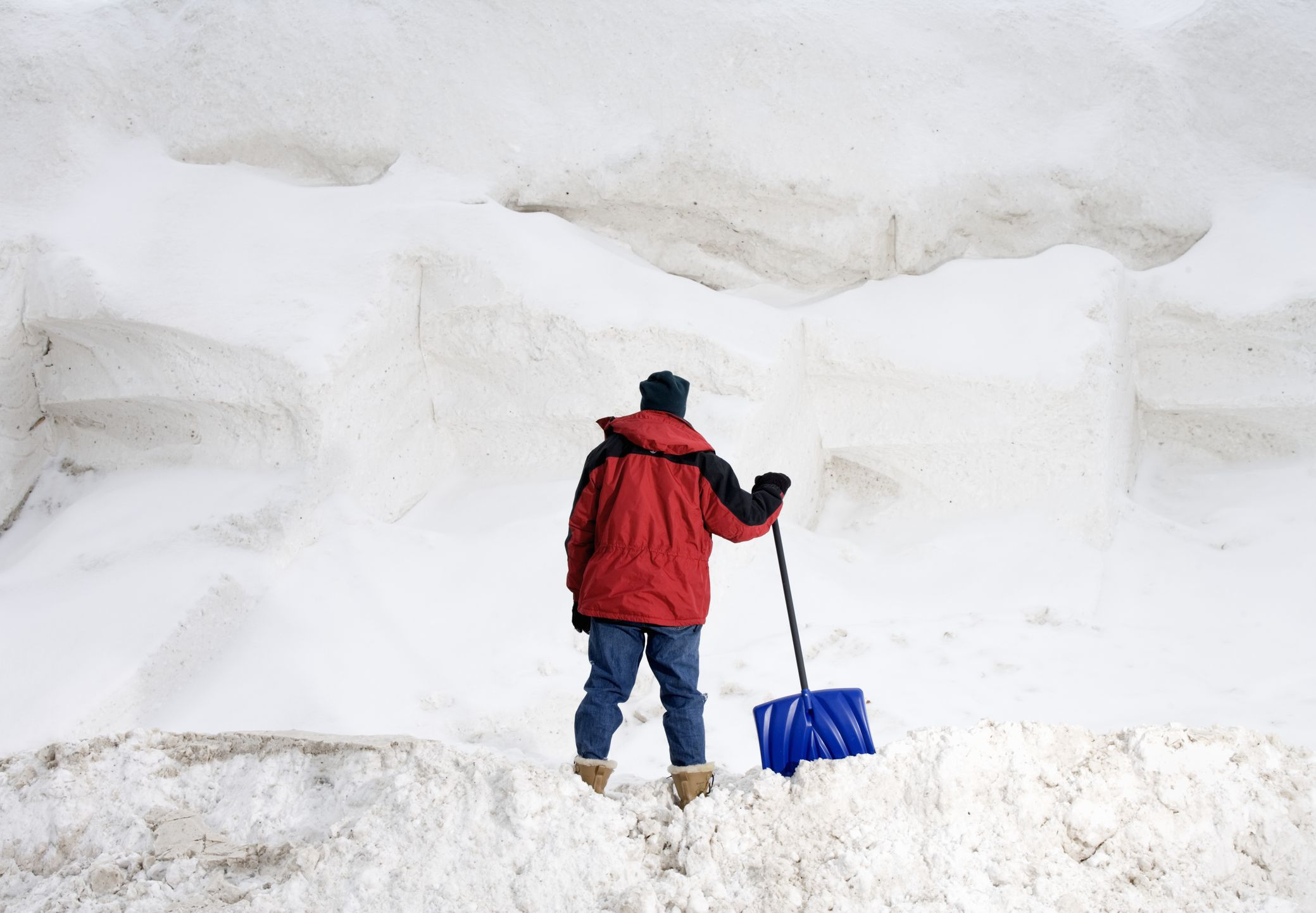 how to make money shoveling snow
