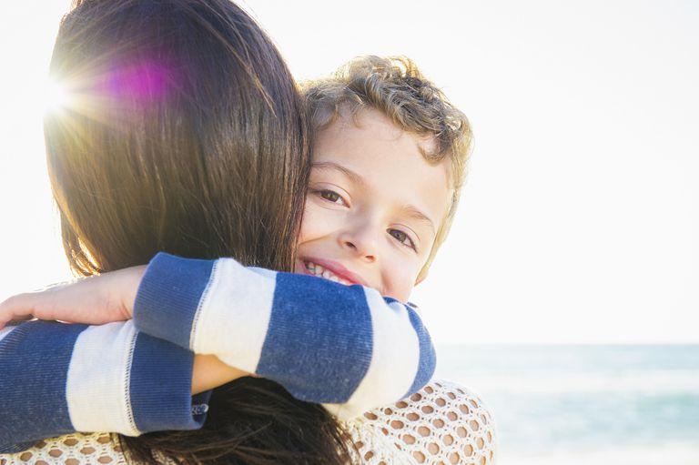 Amor de madre hacia su hijo