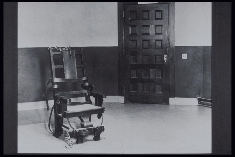 SING SING PRISON ELECTRIC CHAIR