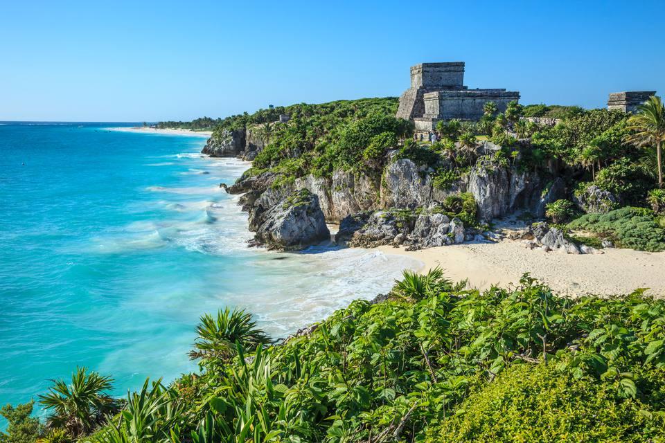 The Mexican Riviera Maya.