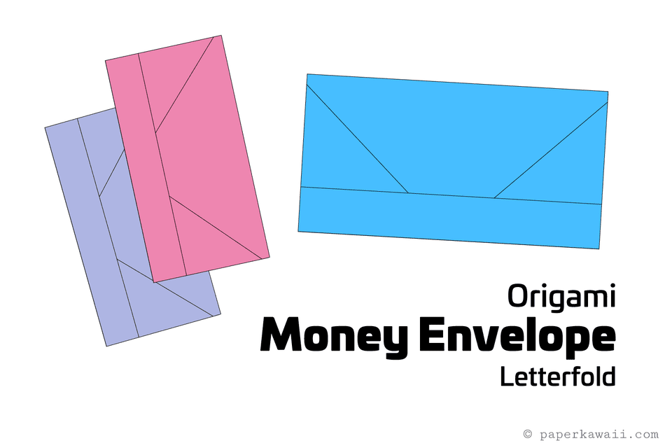 origami money envelope letterfold
