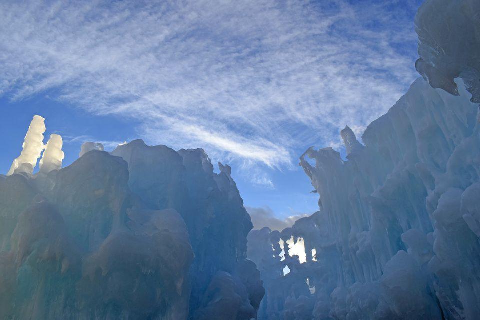 New Hampshire Ice Castle