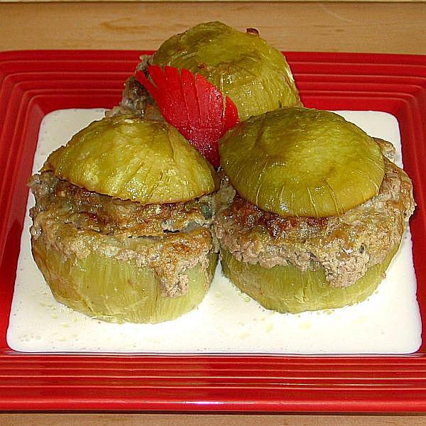 Stuffed Kohlrabi