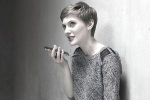Woman talking on a cellphone