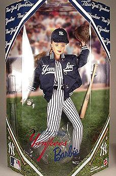 New York Yankees Barbie Doll 1999