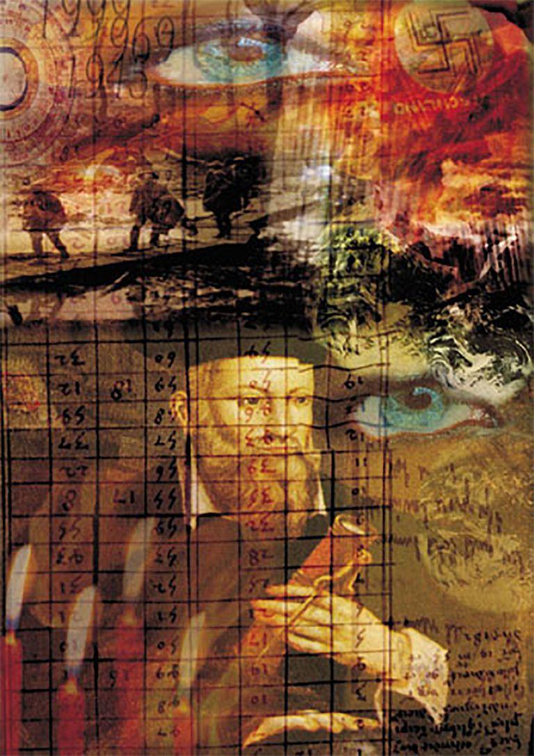 nostradamus collage