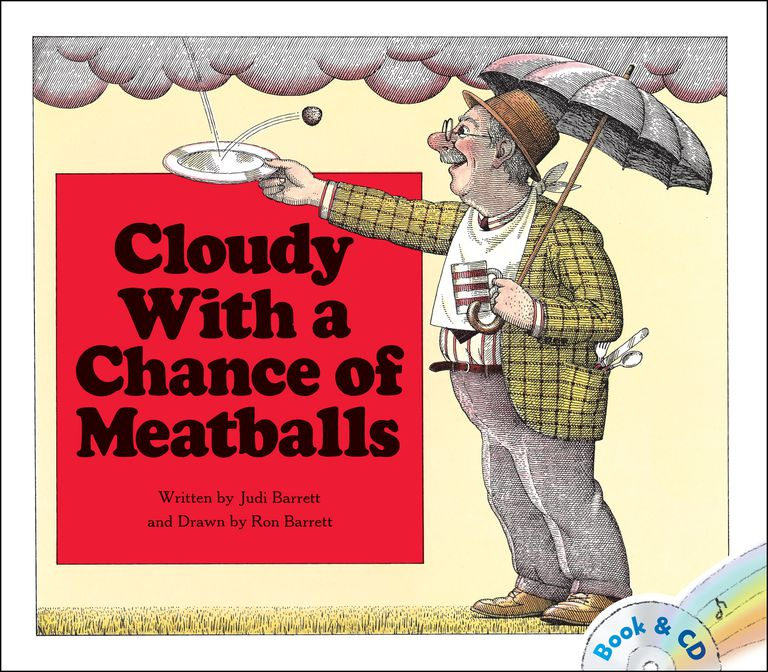 Cloudy With a Chance of Meatballs picture book cover
