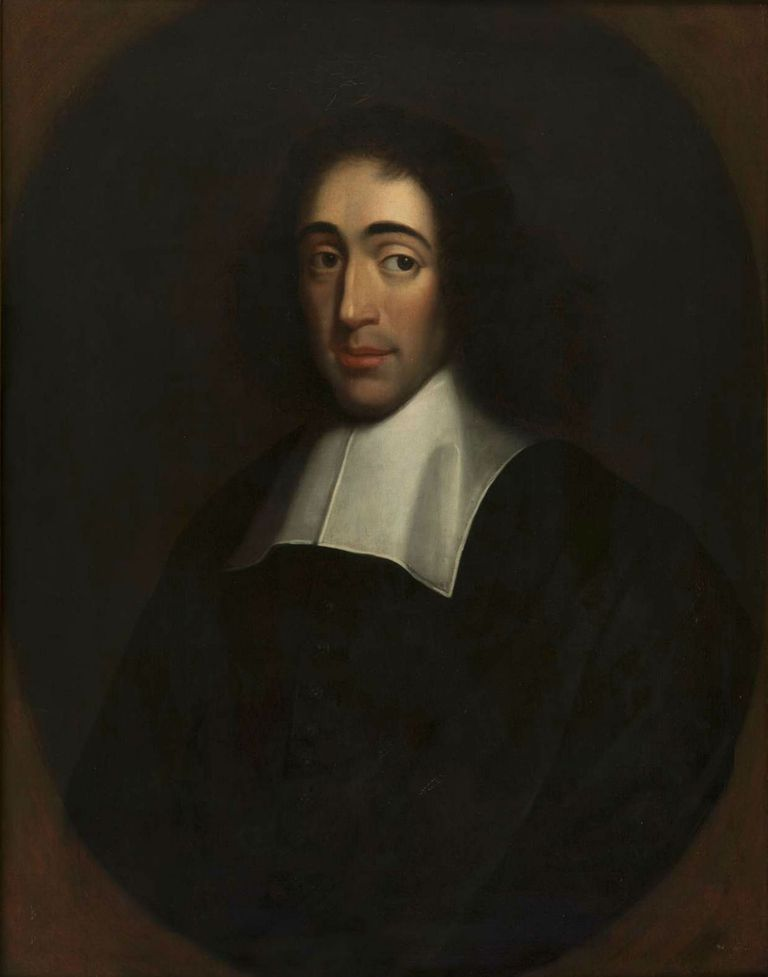 Portrait of Baruch Spinoza, Last quarter of 17th century