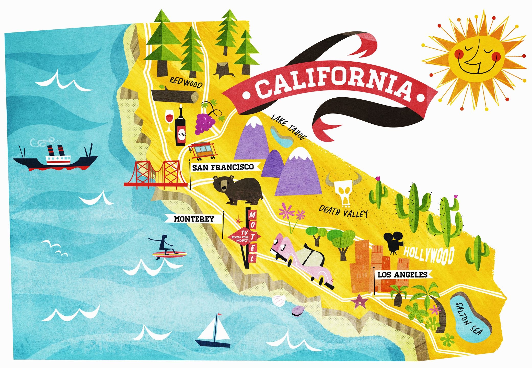 California facts fun things to know about california buycottarizona Choice Image