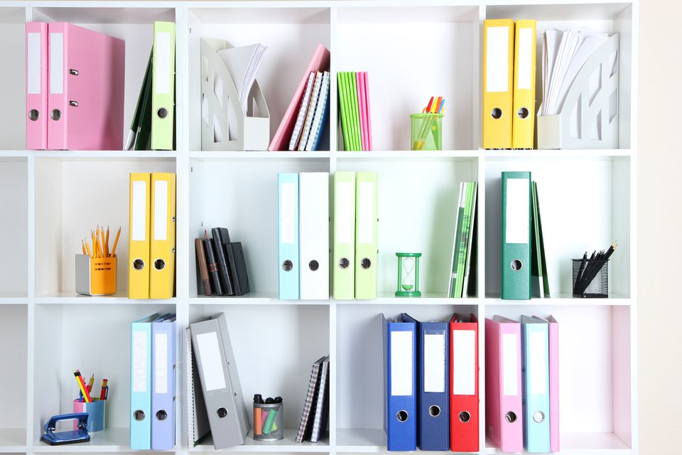 how to set up a home filing system organizing a home office in a small space organizing a home office in a small space