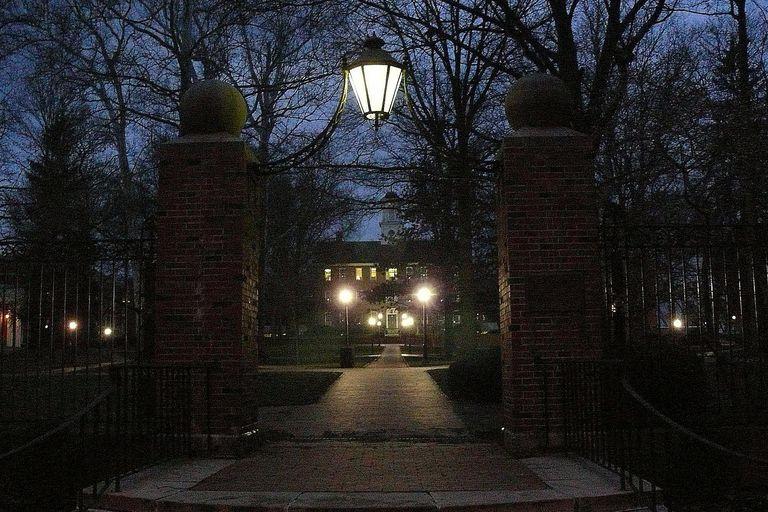 Ohio University at Twilight