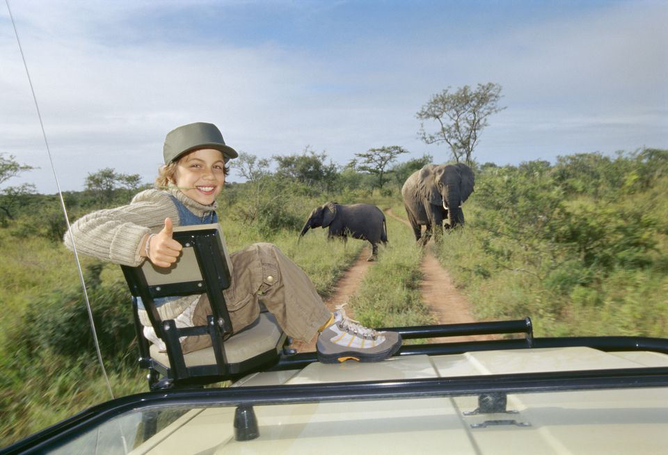 Planning a Family Holiday to South Africa Boy on Safari