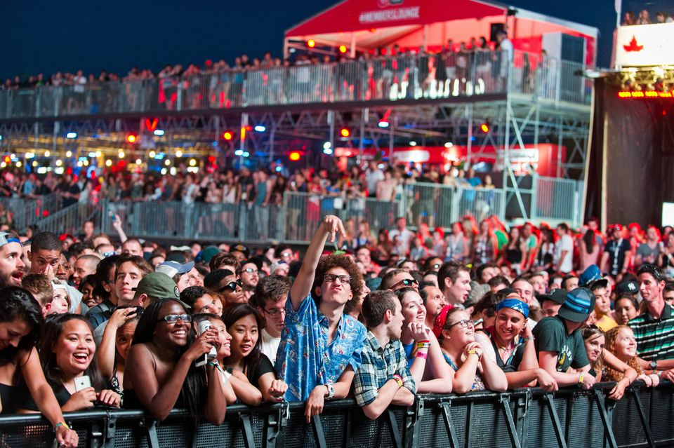 Osheaga 2017 lineup highlights include The Weeknd, Muse, Lorde, Major Lazer, and Solange.
