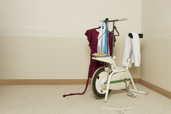 Declutter your home - no more unused stationary bike