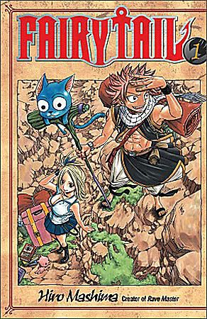 Fairy Tail Volume 1 by Hiro Mashima, published by Del Rey Manga