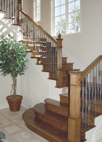 Add Metal Balusters Railings Or Posts To Your Stairs