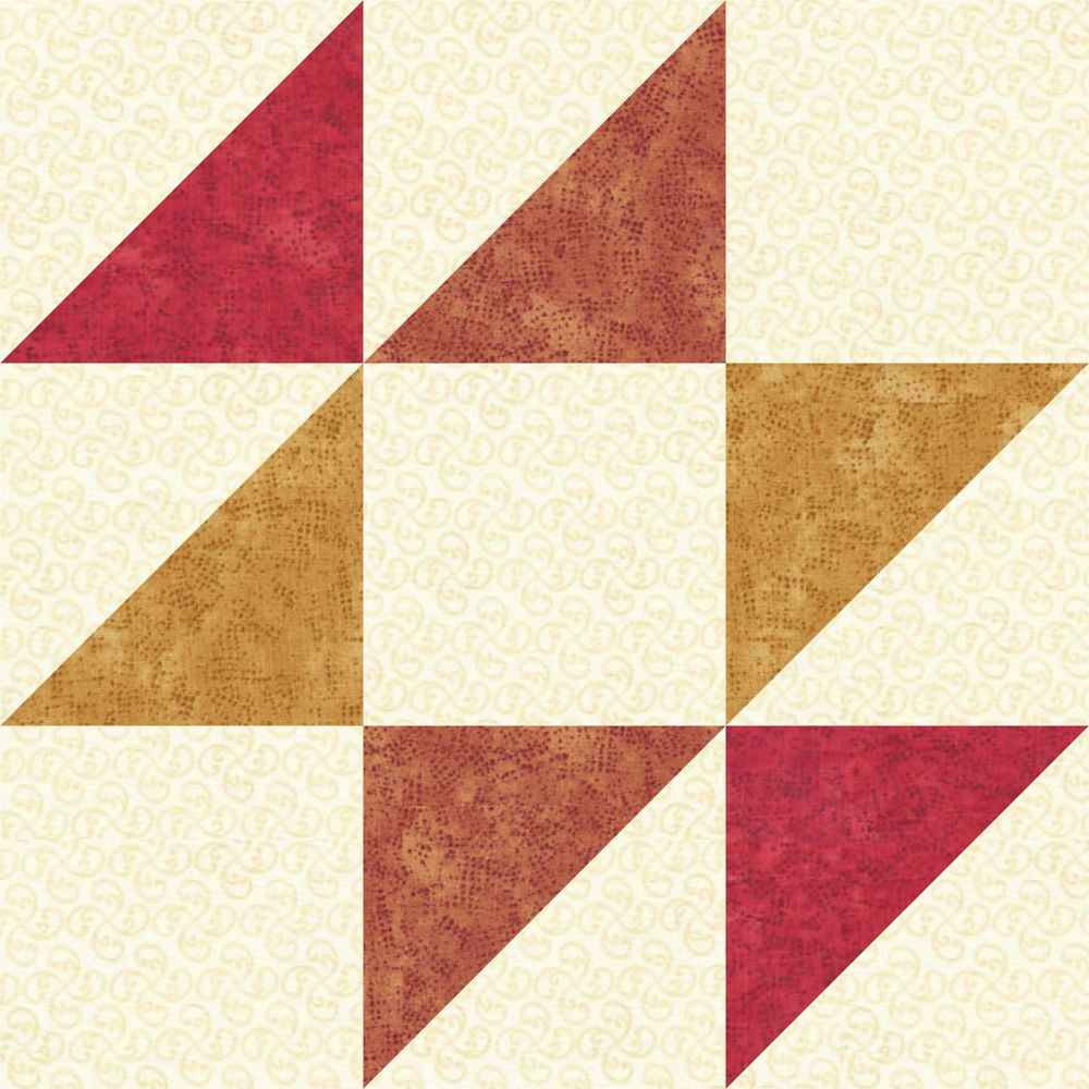 Sew A Simple Version Of An Old Maid S Puzzle Quilt Block