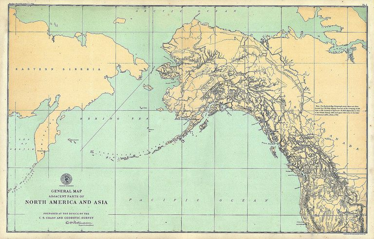 1903 map of Alaska