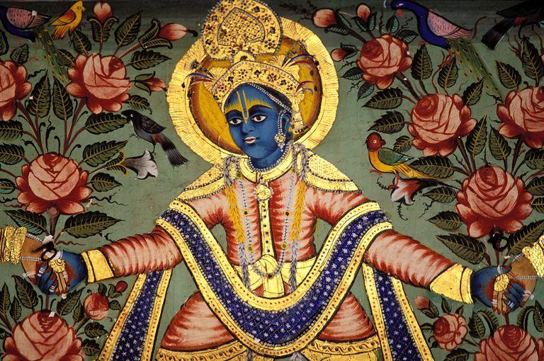 Painting of Krishna