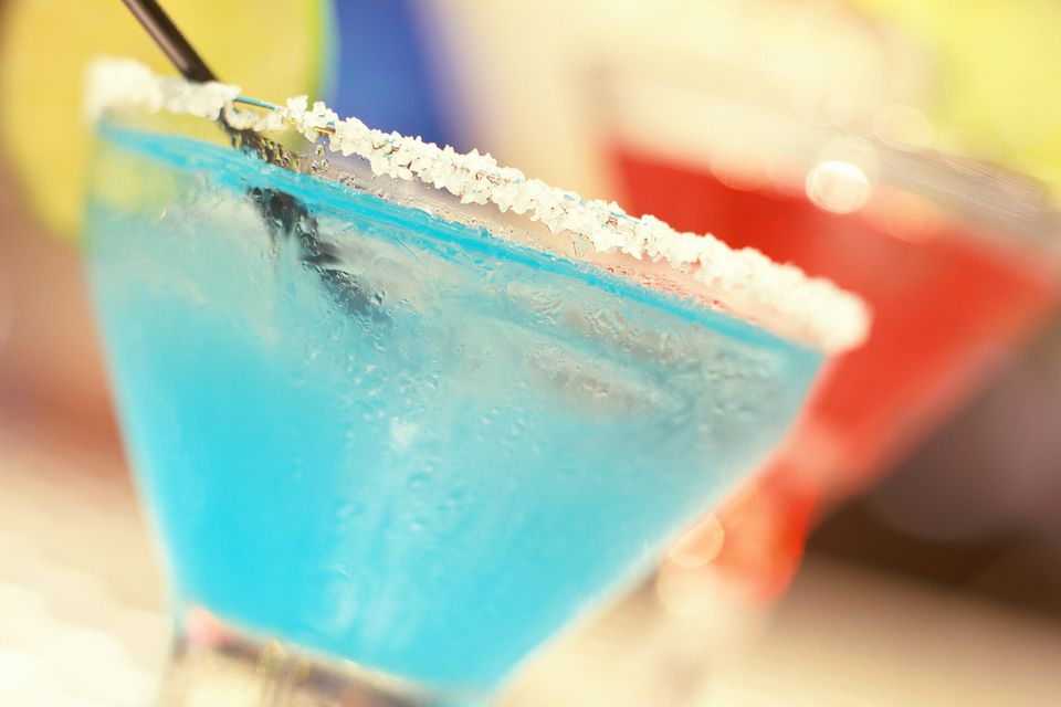 Blue Bayou Frozen Cocktail