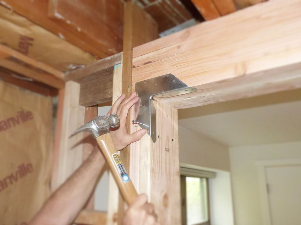 Replacing A Load Bearing Wall With A Structural Beam