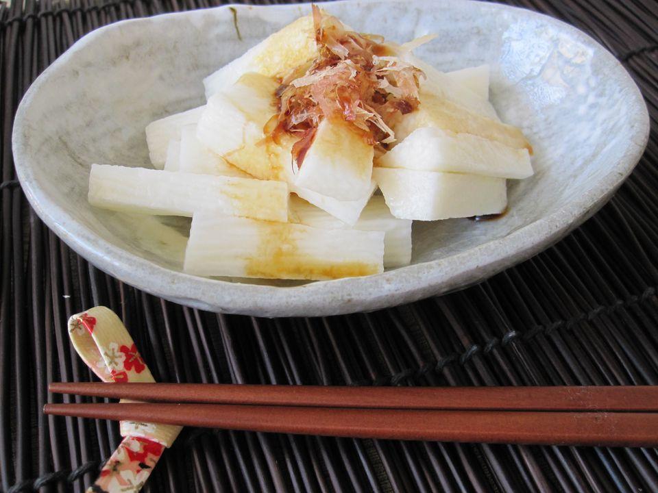 Japanese Yam (Nagaimo) Salad