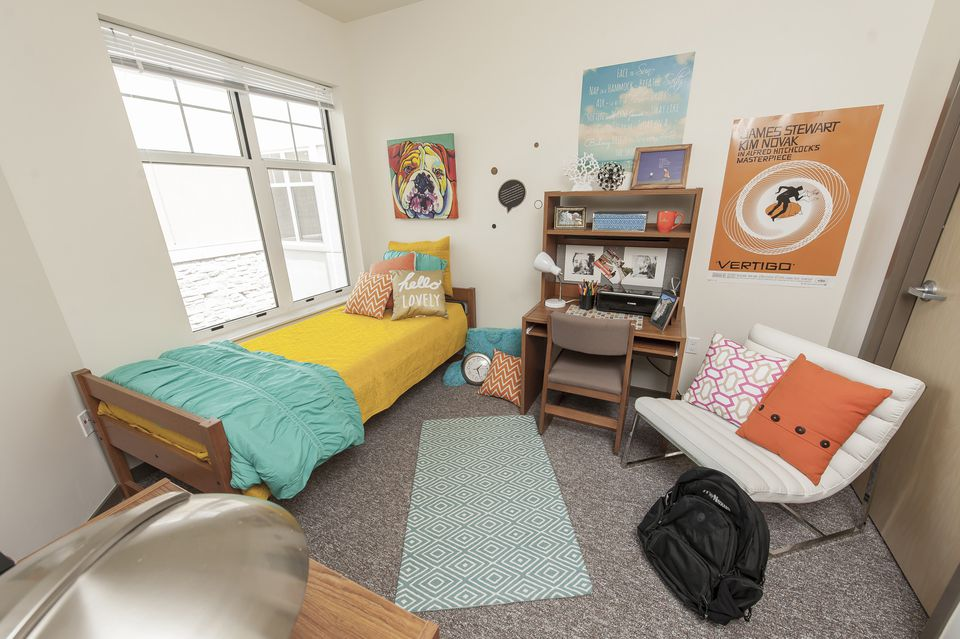 Dont Bring Window Treatments Pretty And Simple Dorm Room Decor