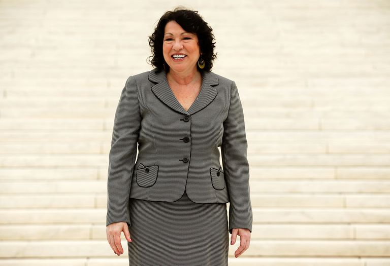 Sonia Sotomayor Attends Formal Investiture Ceremony At U.S. Supreme Court