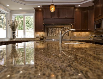 granite kitchen countertops. Should You Choose Quartz Or Laminate  Kitchen Countertop Reviews Countertops Popular Ideas And Pictures